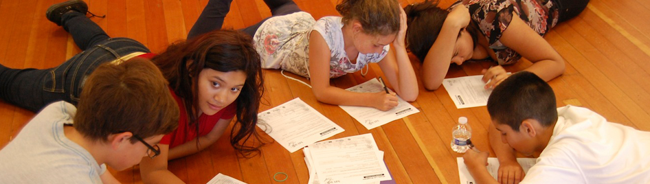 Poetry to Song Children studying